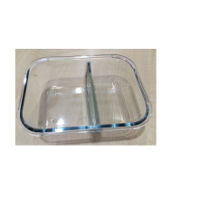 Glass Storage Box with Two Layers