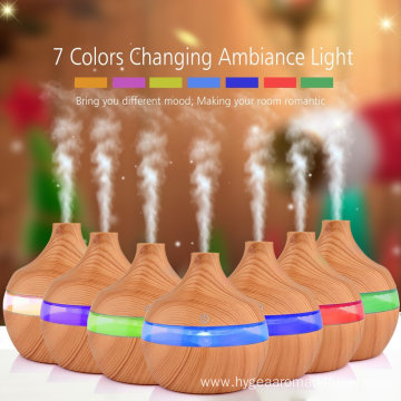 7 Color Changing Ultrasonic 300ml Essential Oil Diffuser