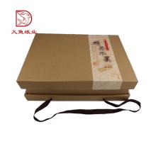 En vrac en gros carton Chinois personnalisé fruits boîtes claires