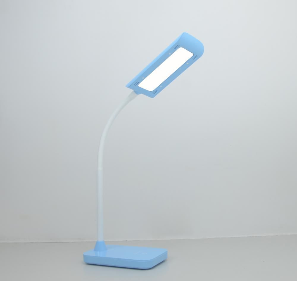 Rectangular 6W LED lámpara de mesa para lectura