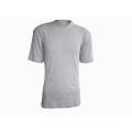 Camiseta 100% algodón con cuello en V para hombre 160G