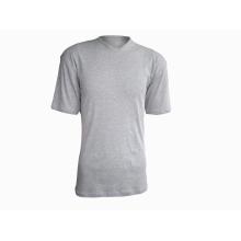 Мужская футболка с V-образным вырезом из 100% хлопка 160G