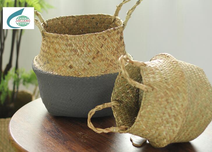 mat grass basket