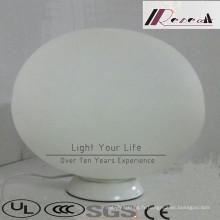 Éclairage décoratif moderne de plancher de boule blanche d'opale décorative