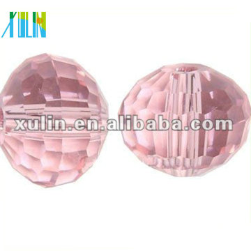 Perles pour la fabrication de bijoux 8mm Rose Crystal Disco Beads 5003 #