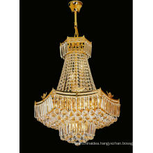 European style gold crystal chandeliers pendant light for home 6126