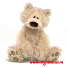 Мех Коричневый плюшевый медведь