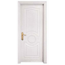 Branco Design Simples Porta de madeira sólida