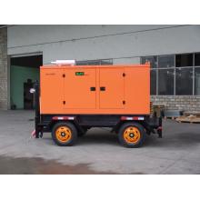 Witterungsbeständiger schallisolierter mobiler Anhänger / tragbarer Dieselgenerator