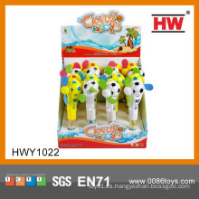 Divertido Portátil mini Candy Handheld Fan Juguetes promocionales para niños