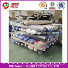tela popeline T / C do estoque de TC 45X45 110x76 estocou a tela de Poplin do Spandex do algodão