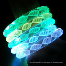 weiße Fadenfarben ändern LED-Armband