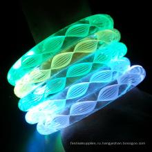 белыми нитками цвета изменение светодиодные браслет
