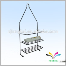 China supplier wholesale good quality durable hot sale portable free standing metal bathroom magazine rack