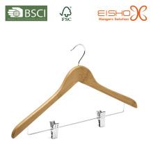 Бамбуковая вешалка с зажимами (MB05-2)