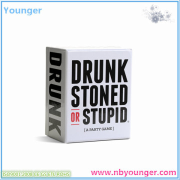 Drunk Stoned Stupid Party Game