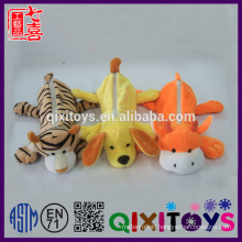 wholesale pencil bag animal shape plush pencil case toys plush pencil case