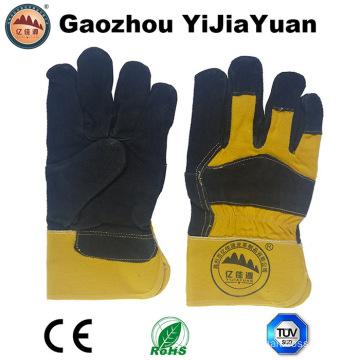 Full Palm Cow Split Leather Work Gloves
