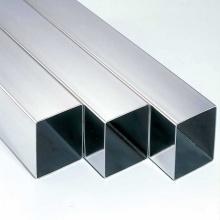 Tubo cuadrado de acero inoxidable resistente