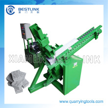 Gravity Feeding Stone Brick Splitting Machine for Wall Strips