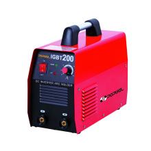 Eficiência 85 (%) Dc Inverter Arc Welding Machine Igbt200 Potência nominal de entrada 7 (Kva)