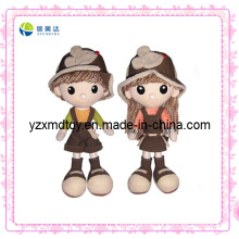 Cute Couple Boy and Girl Doll Plush Toy