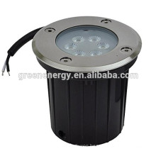 underground led light brushed stainless steel trim 3w 7w 14w swimming pool led light led inground light