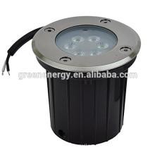 12V светодиодные подземный свет с матовой отделкой из нержавеющей стали 3 Вт 7 Вт светодиодные подземный свет