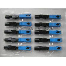 Conector Rápido Sc Upc / Conector Rápido de Fibra Óptica