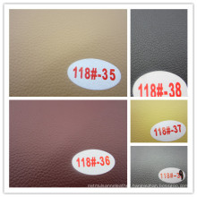 Factory Offered PVC Synthetic Leather (HONGJIU-118#)