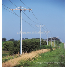 30 M Guyed Mast Electric Power Steel Pole