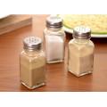 Bouteilles en verre de 70 ml Mini Condiment pour le stockage Sal Spice