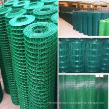Malla de alambre soldada de ancho galvanizado calibre 8 para materiales de construcción / construcción (fabricante / proveedor)
