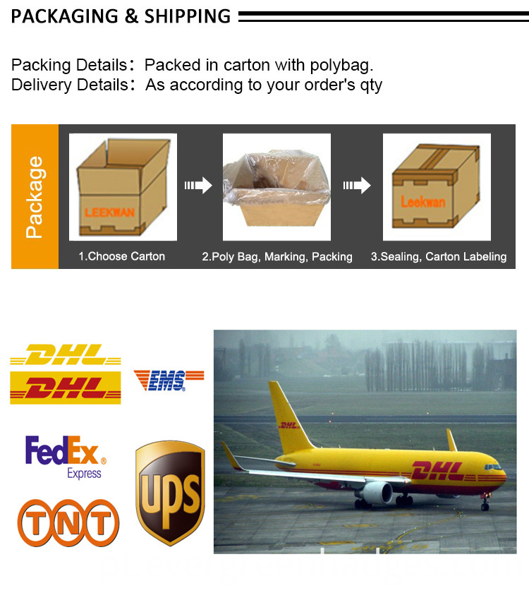 Backing and shipping
