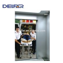 Krankenhaus Aufzug für Ladung Bett aus Delfar Aufzug mit günstigen Preis
