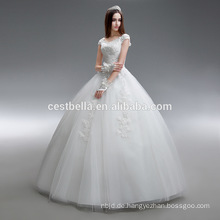 Ballkleid oder Prinzessin Schatz Organza Brautkleid Made in China