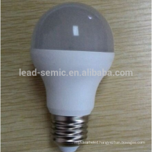 2015 Hot Sale Aluminium and plastic led lighting bulb A57