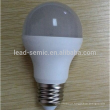 2015 Alumínio de venda quente e plástico levou bulbo de iluminação A57