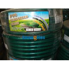 Grüner schwarzer PVC-Gartenschlauch