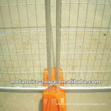 Hot-dipped temporary fence plastic feet systems