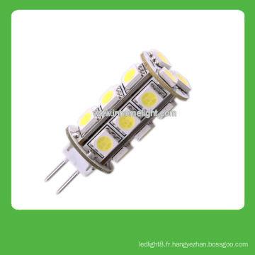 Bonne qualité 12V G4 18 SMD 5050 led