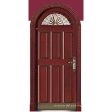Italia puerta de acero blindada dormitorio puerta China proveedor (D4011)