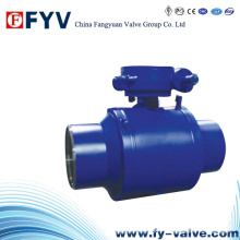 ANSI Full Welded Ball Valve (Gear Operated)