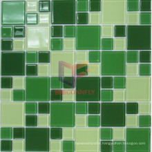Green Color Glass Mosaic (CFC508)