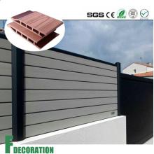 Revestimiento de panel de pared de diseño al aire libre WPC