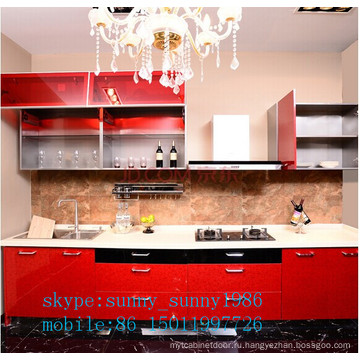 Акриловый кухонный шкаф (под заказ)