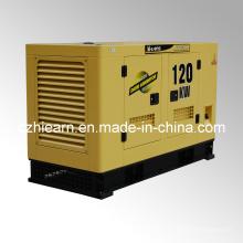 Tipo silencioso refrigerado a água do grupo de gerador diesel (GF2-120KW)