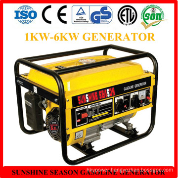 High Quality 2.5kw Gasoline Generator for Home Use with CE (SV3000)