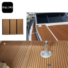 Melors Faux Teak Boat Flooring Composite Marine Decking