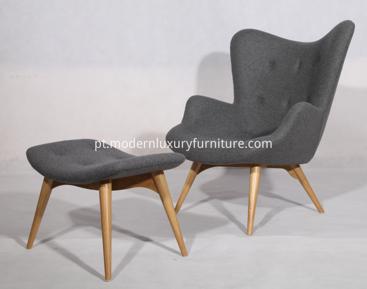 Grant featherston chair and ottoman